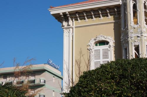Hotel Metropol e Villino Ruggeri Liberty